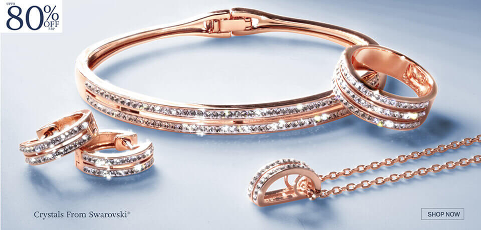 Fortuna Collection Made With Swarovski® Crystals