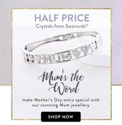 Mums the Word - make mothers day extra special with our stunning mum jewellery