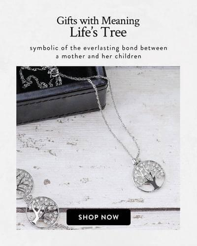 Gifts with meaning Lifes Tree - symbolic if the everlasting bond between a mother and her child