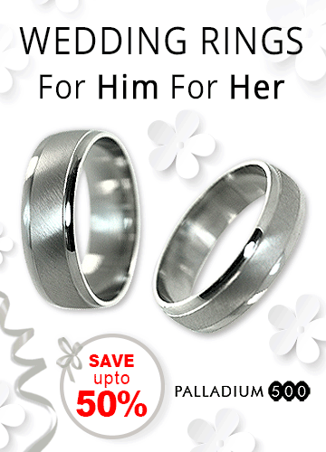Wedding rings for him and her