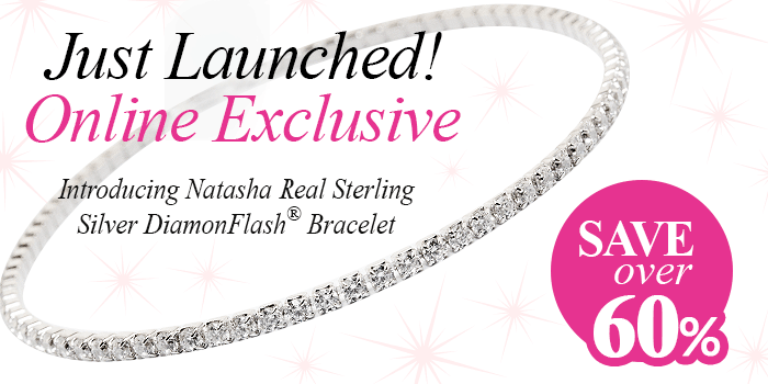 Our sparkliest bracelet is revealed