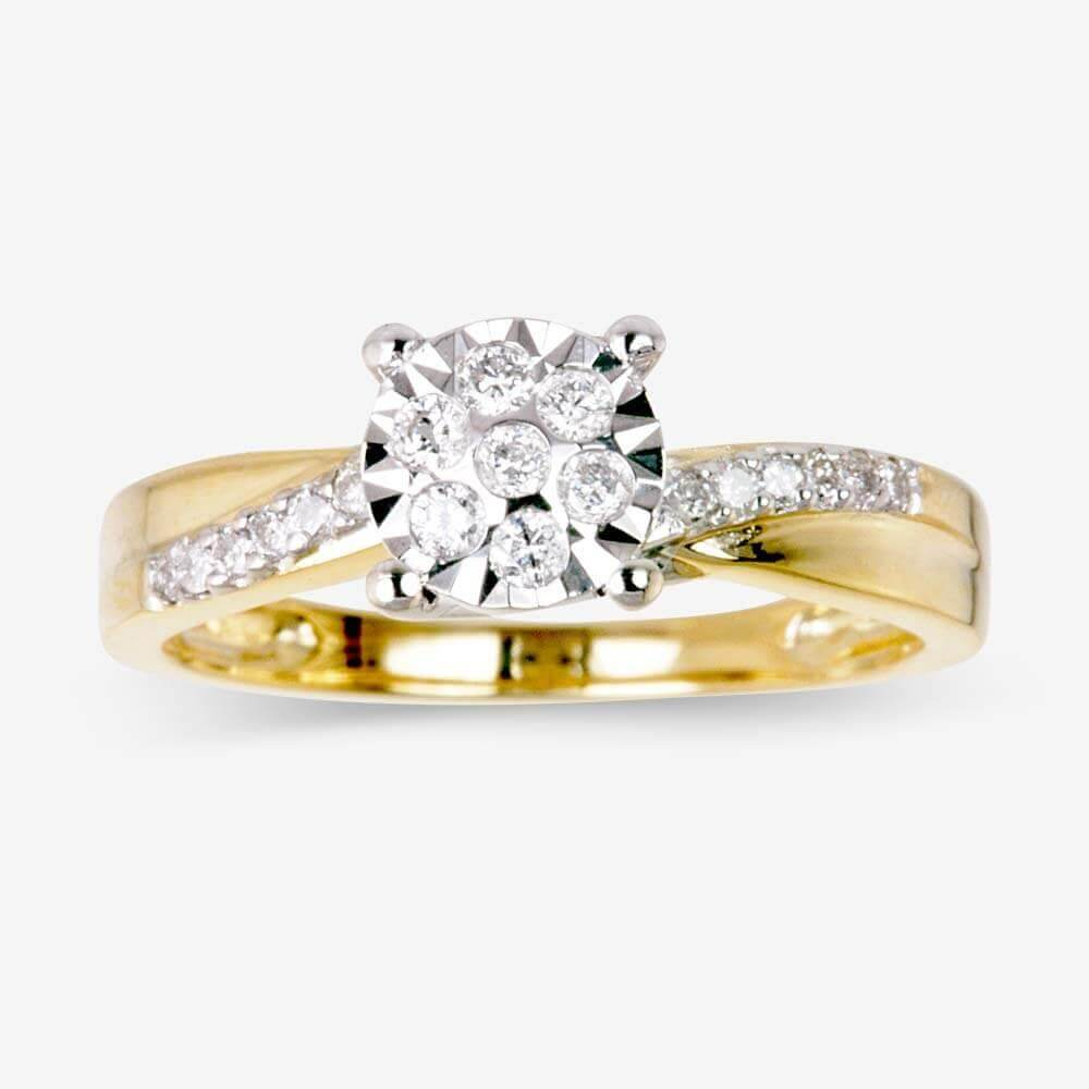 rings jewellery memories engagement gold with wedding diamond golden promise