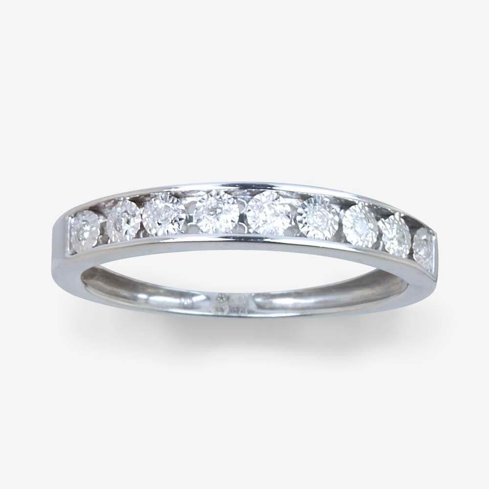 Silver Gold Ring Image