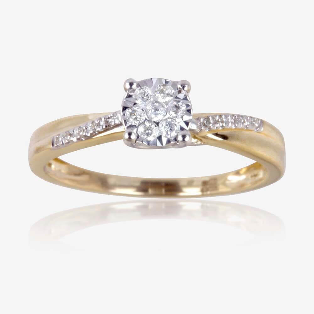 this a row diamond as of jewellery diamonds round the features pin centerpiece ring more sparkling seven rings gold