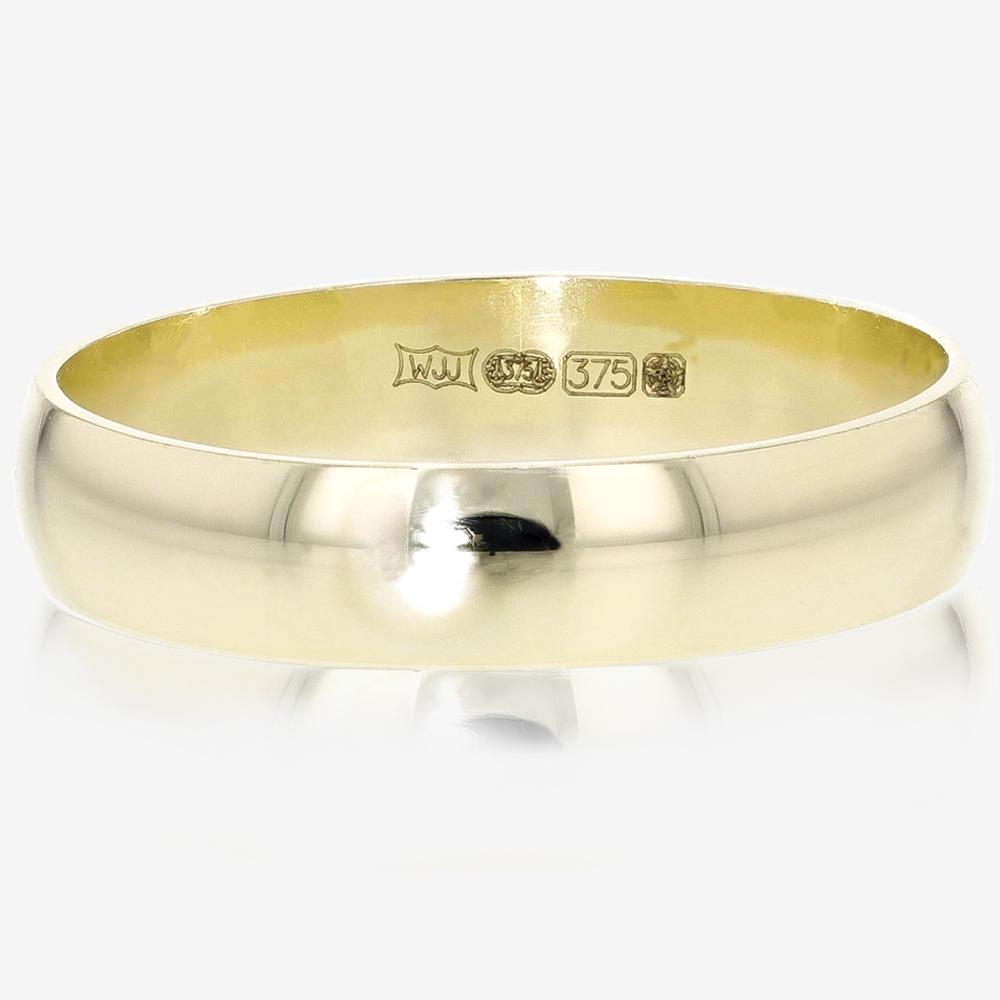 9ct Gold Ladies Heavyweight Wedding Ring
