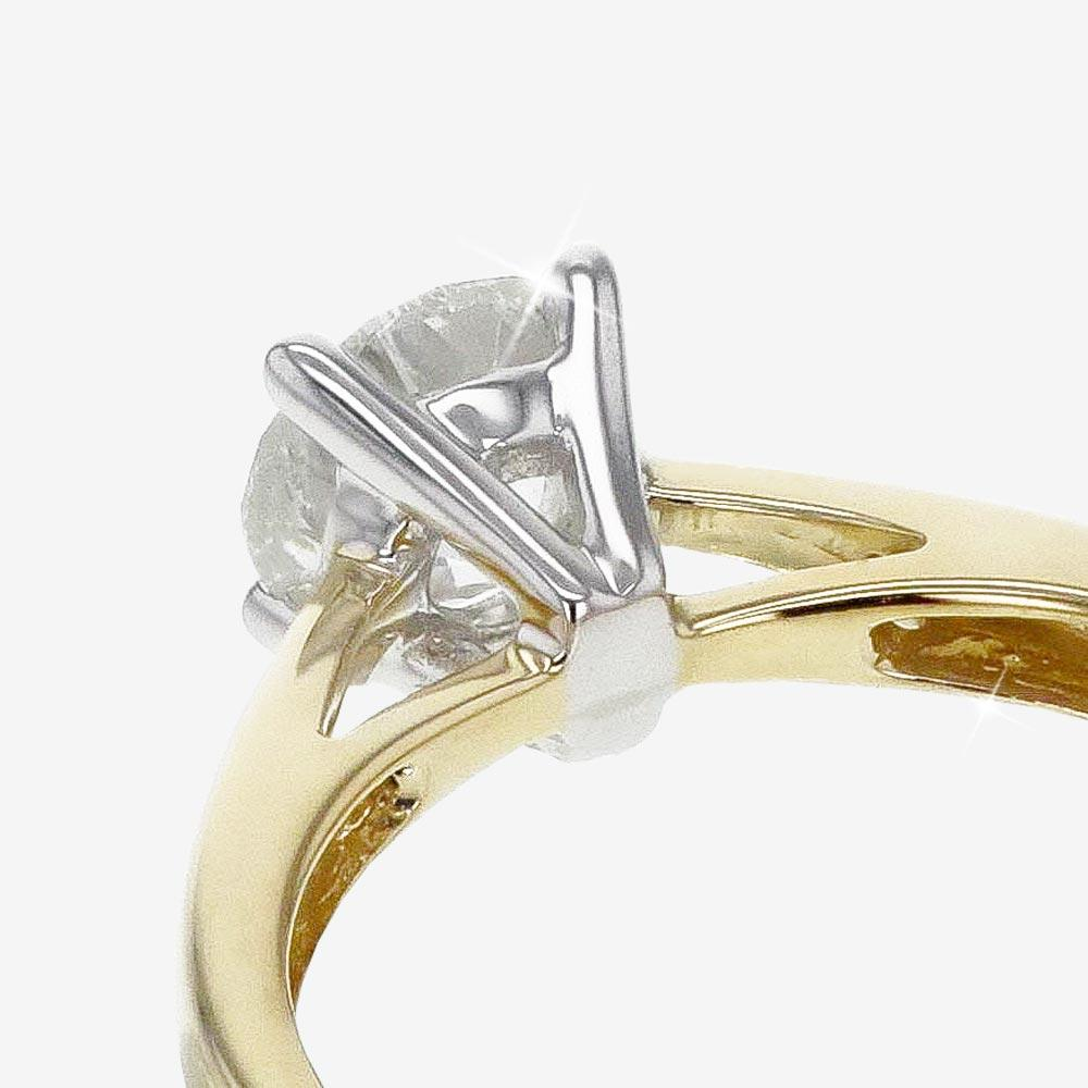 18ct Gold Diamond Solitaire Ring 1.00ct