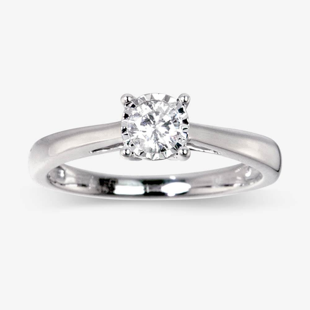 pure brilliance certificated diamond solitaire ring 25ct. Black Bedroom Furniture Sets. Home Design Ideas