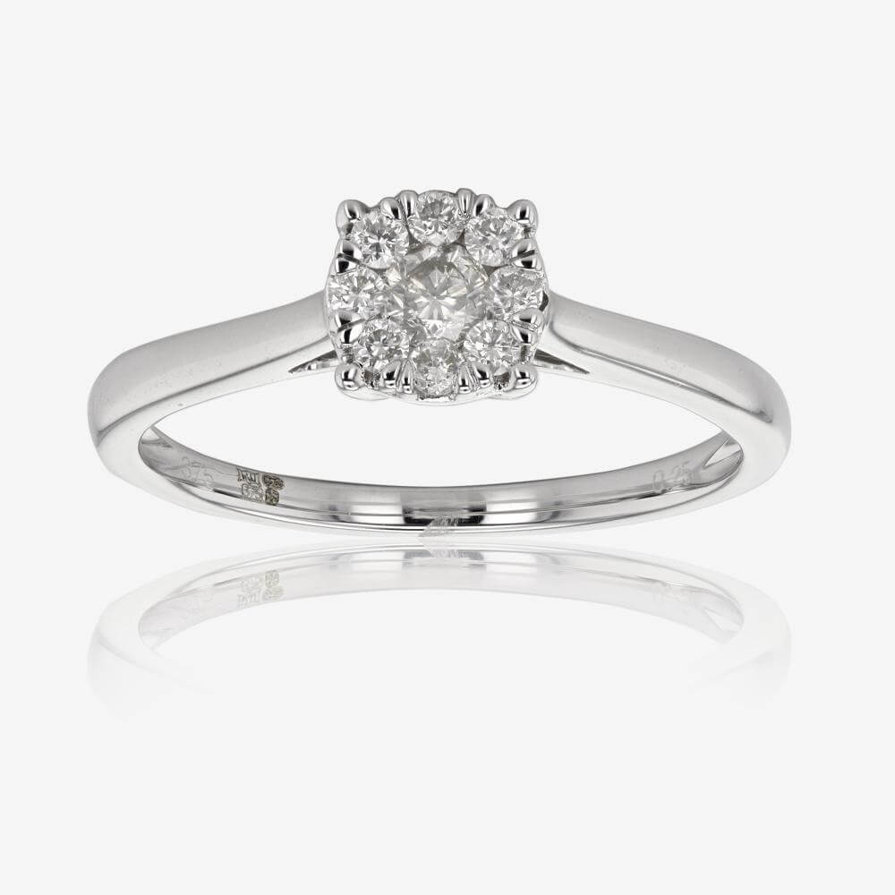 Pure Brilliance Certificated Diamond Ring .25ct