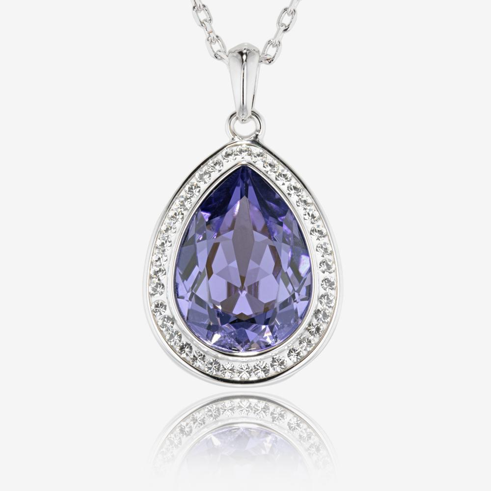 Violetta Necklace Made With Swarovski 174 Crystals