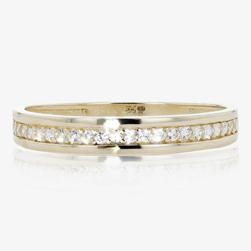 9ct Gold DiamonFlash® Eternity Ring