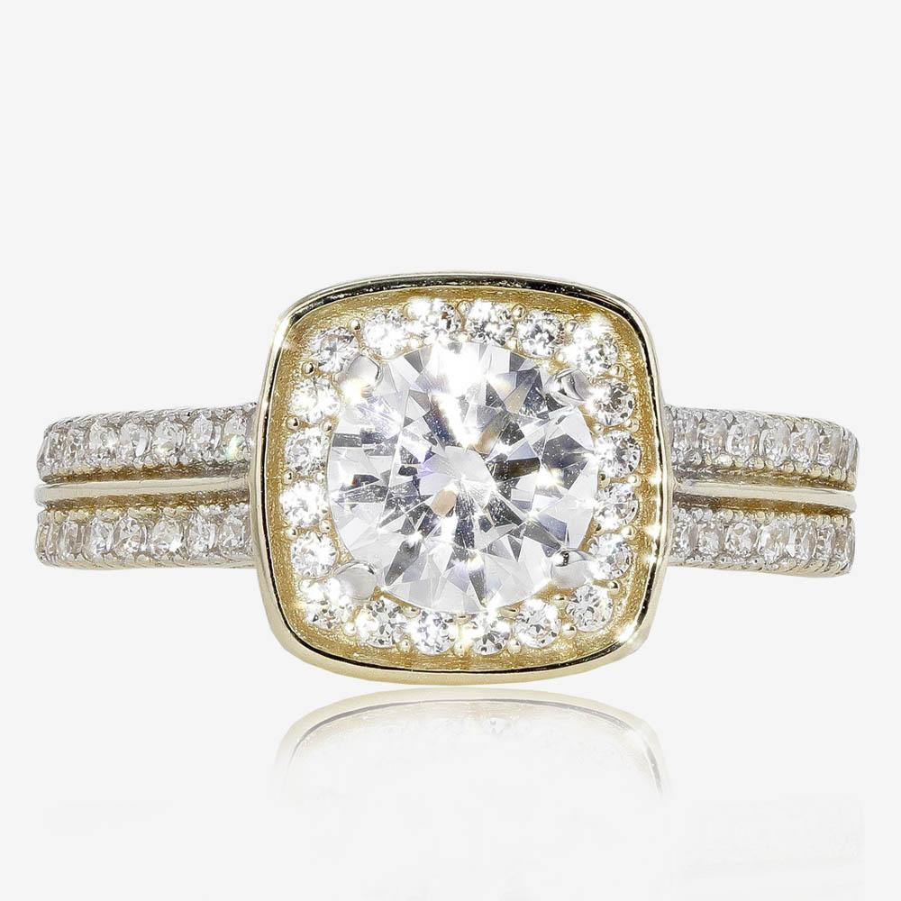 9ct Gold DiamonFlash® Cluster Ring