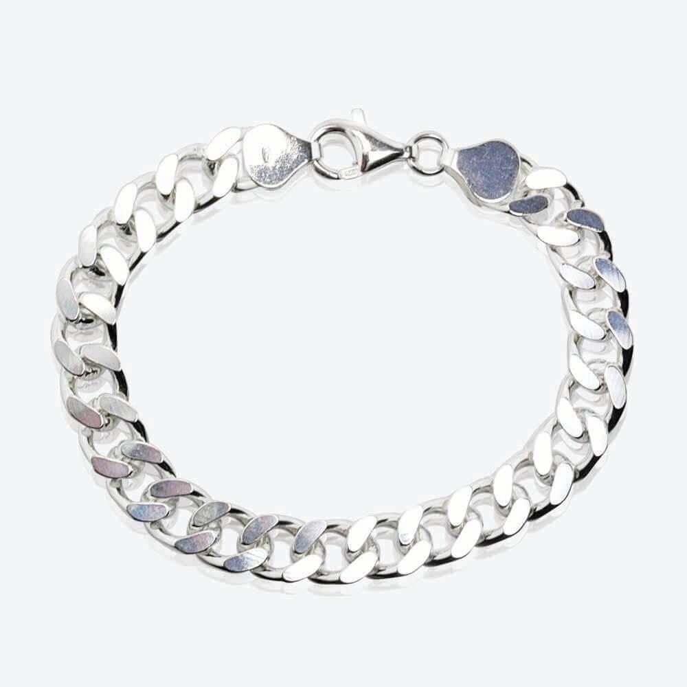 59a6acbf6 1oz approx Sterling Silver Men's Curb Bracelet
