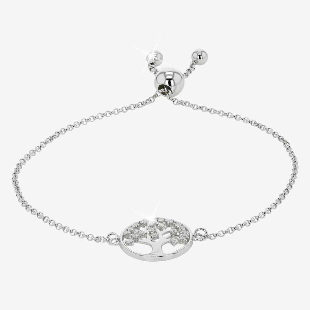 Sterling Silver Tree of Life Bracelet