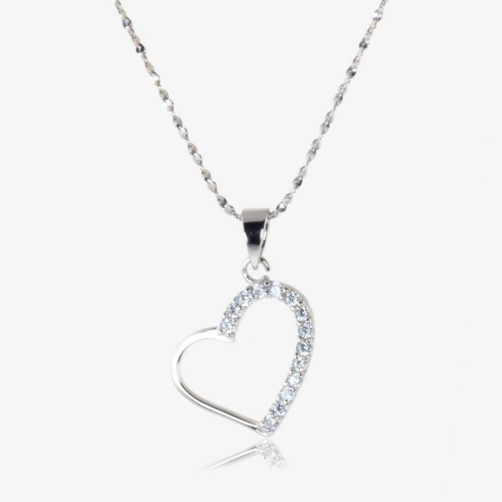 heart size contempo necklaces product os jewellery necklace