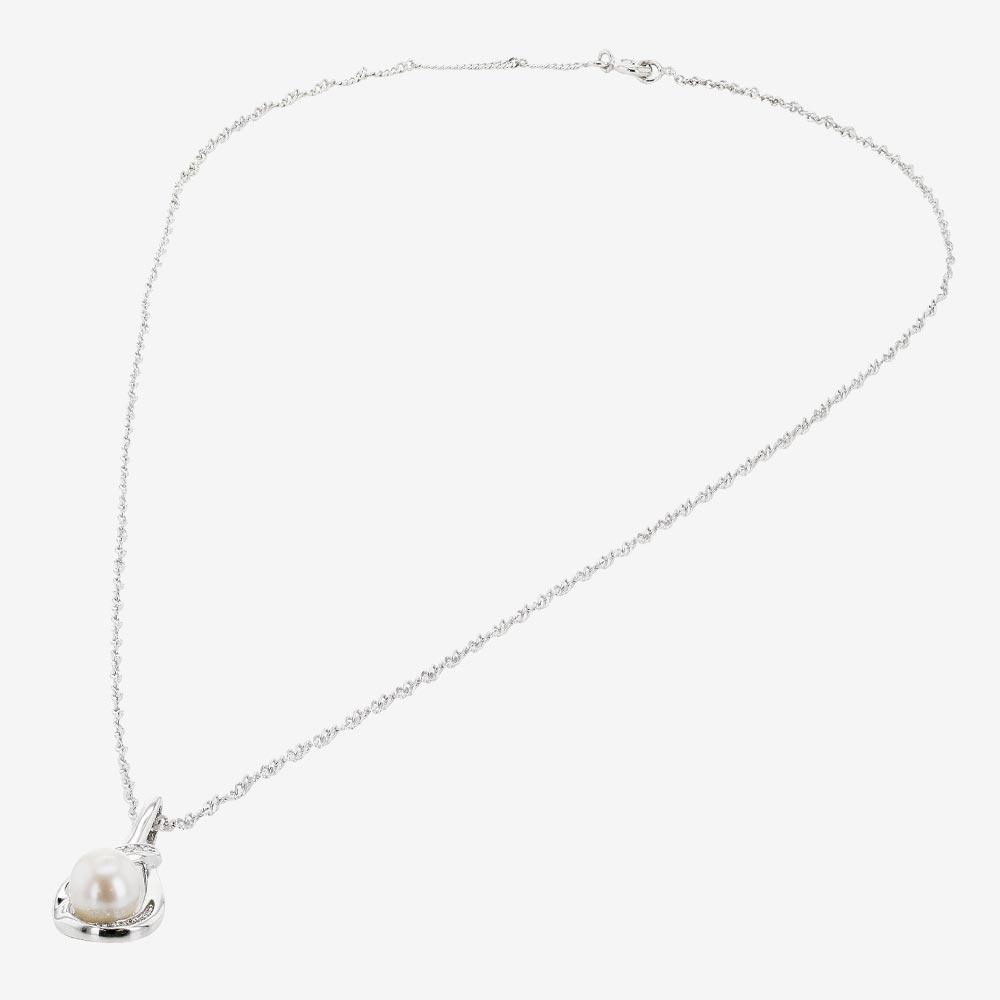 Suzette Sterling Silver Cultured Freshwater Pearl Necklace