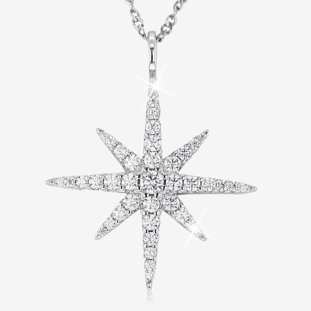 Sterling Silver DiamonFlash® Star Collection