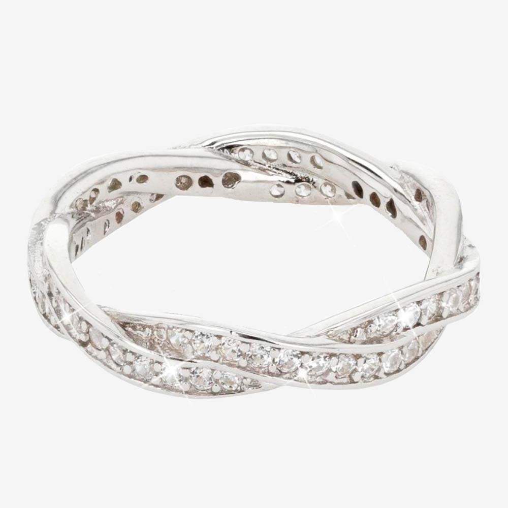 Sterling Silver Braided Diamonflash® Ring. Spurst Commini Rings. Odd Engagement Rings. Faux Diamond Engagement Rings. Three Stone Engagement Rings. Elegant Wedding Rings. Bronze Coin Rings. Mythical Wedding Rings. Couple Rings