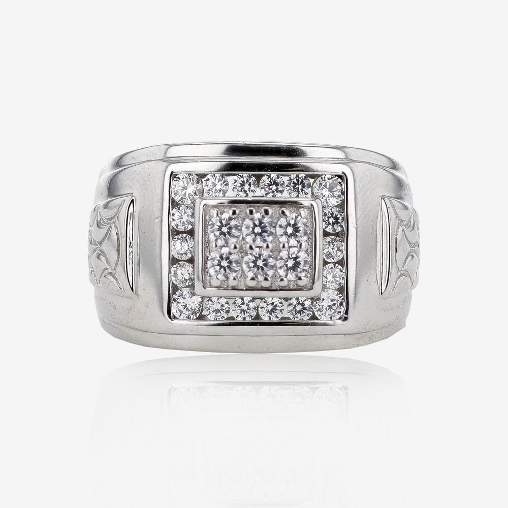 s sterling silver heavyweight ring
