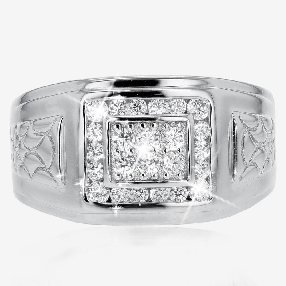 Men's Sterling Silver Heavyweight Ring