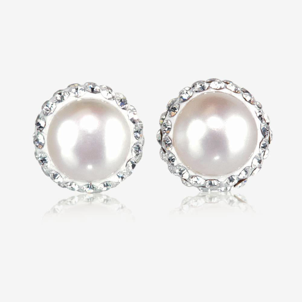 Arabella Sterling Silver Cultured Freshwater Pearl Earrings