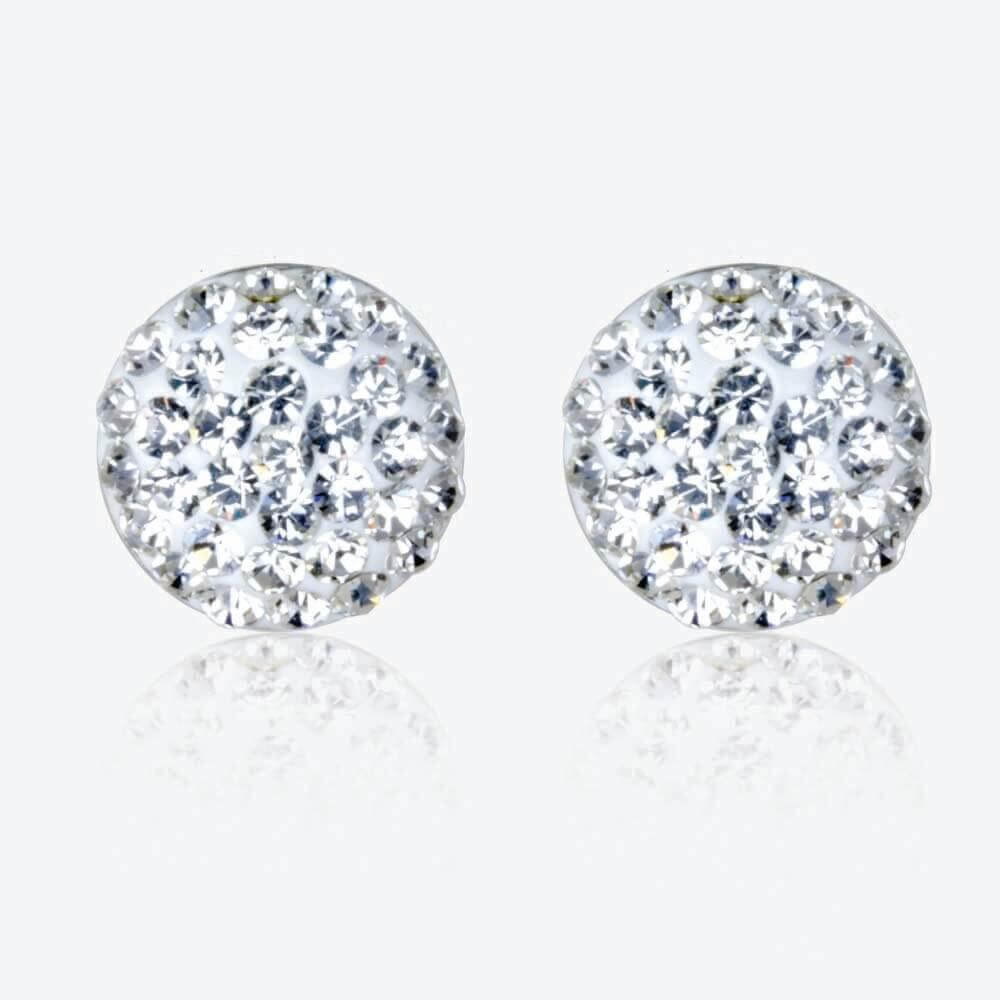 Permalink to Silver Cubic Zirconia Earrings