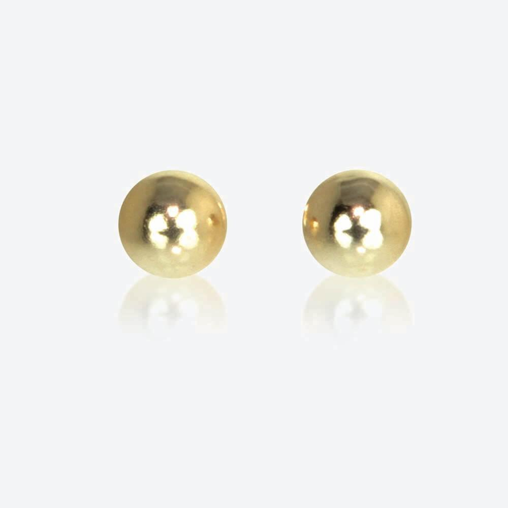 Kerys 9ct Gold 4mm Ball Studs