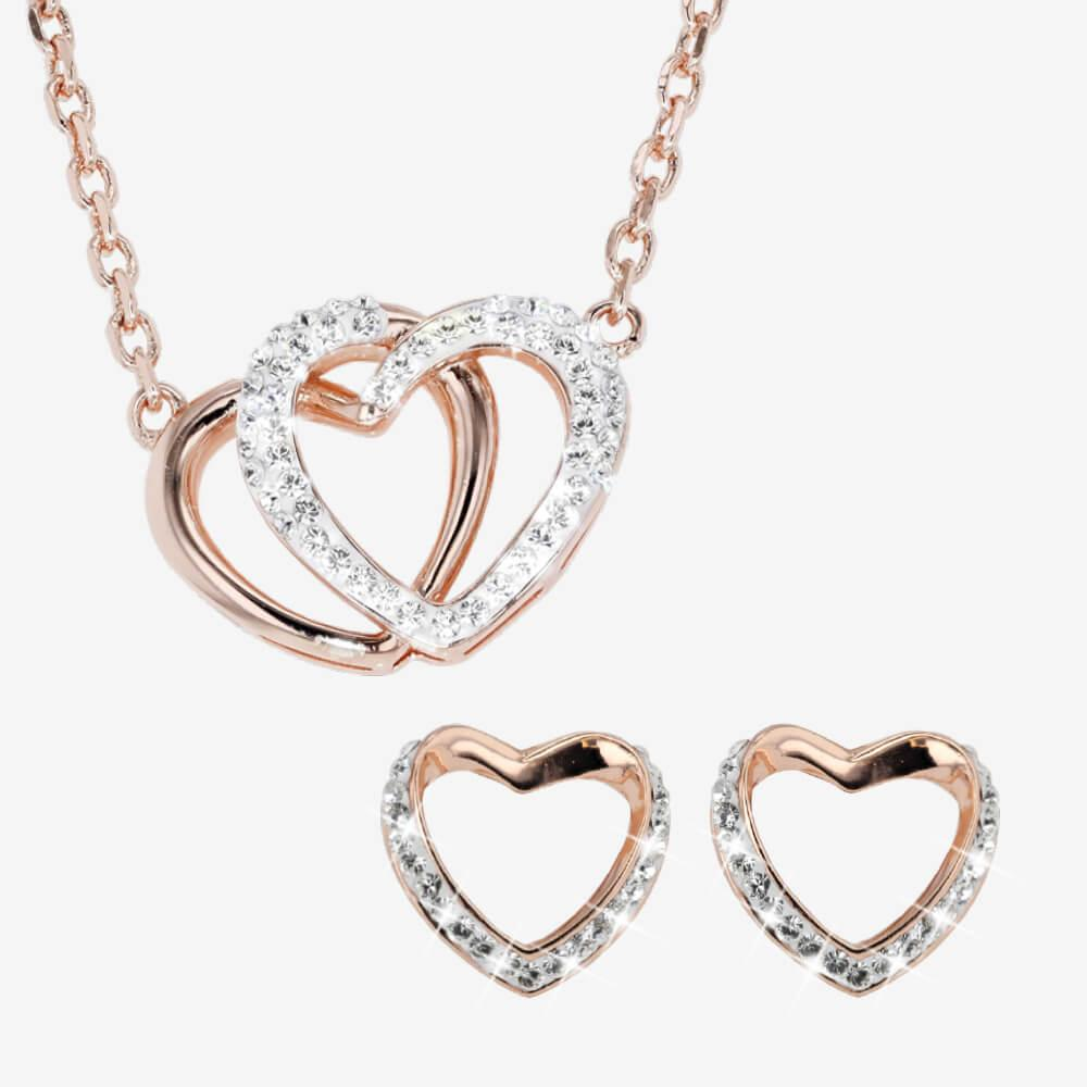 The Petra Heart Rose Gold Collection