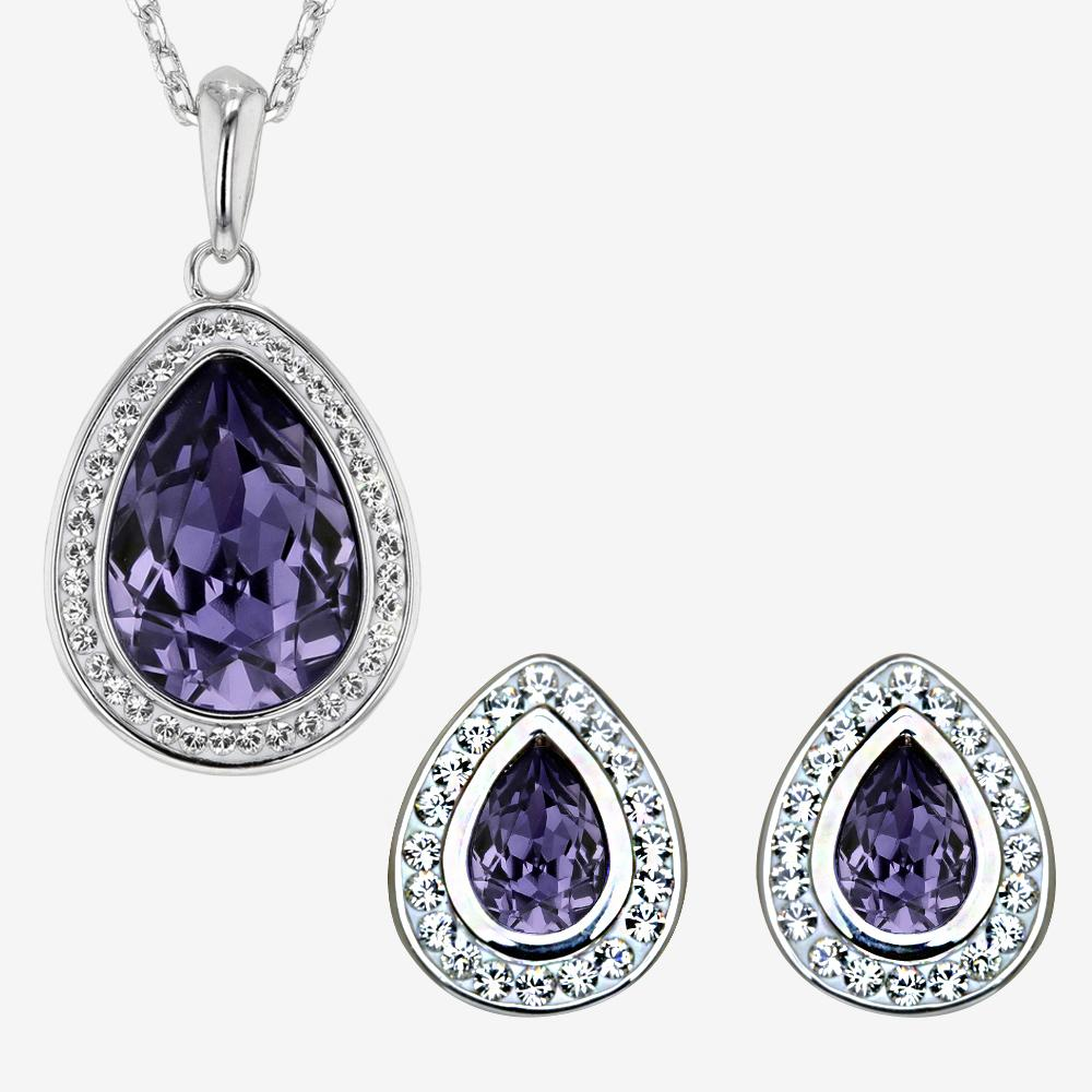Violetta Collection Made With Swarovski<sup>®</sup> Crystals