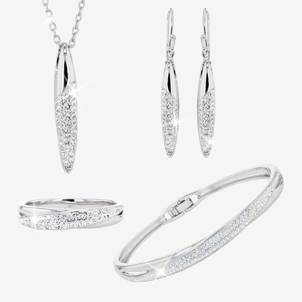 The Lucille Collection made with Swarovski® Crystals