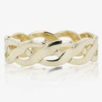 9ct Gold Mens Celtic Style Wedding Band