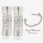 Fortuna Huggie Earrings Made With Swarovski<sup>®</sup> Crystals