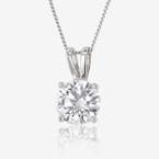 Sterling Silver DiamonFlash® Necklace