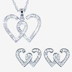 The Entwined Heart Collection Made With Swarovski<sup>®</sup> Crystals
