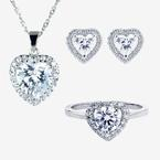 Naomi Sterling Silver DiamonFlash® Cubic Zirconia Collection