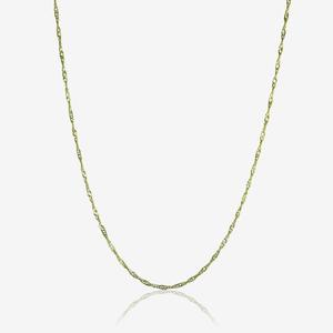 "9ct Gold 18"" Singapore Chain"