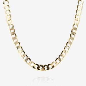 "Men's 9ct Gold Solid 20"" Curb Chain"