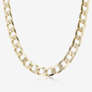 "9ct Gold 20"" Solid Curb Chain Necklace"