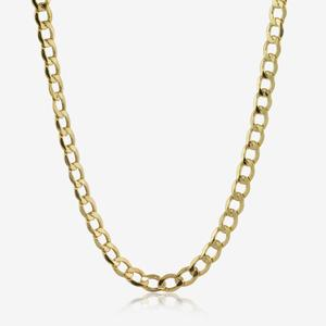 "9ct Gold 24"" Curb Chain"