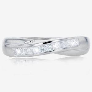 9ct White Gold Diamond Eternity Ring .25ct