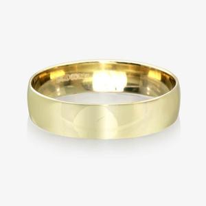 9ct Gold Men's Wedding Ring 5.5mm