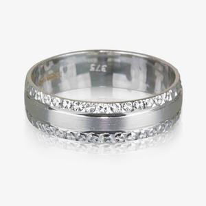 9ct White Gold Luxury Weight Ladies Wedding Ring 5mm