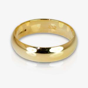 9ct Gold Heavyweight Domed Band Ring