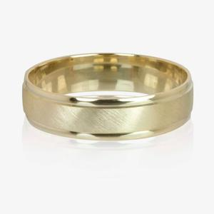 9ct Gold Luxury Weight Men's Wedding Ring