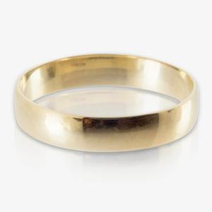 3.5mm Wide 9ct Gold Ladies Wedding Band