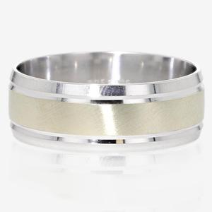 9ct Gold & Sterling Silver Heavyweight Men's Ring