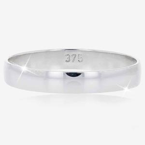 9ct White Gold Ladies Wedding Band