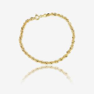 9ct Gold Aurora Chain Bracelet
