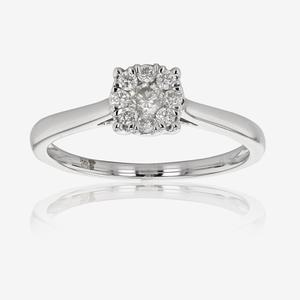 Pure Brilliance Certificated Diamond Ring .25ct - White Gold