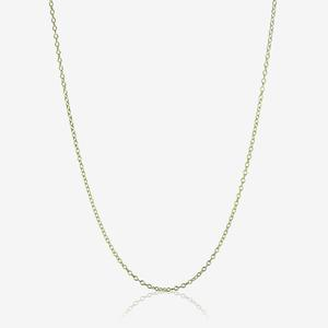 "9ct Gold & Silver Bonded 18"" Trace Chain"