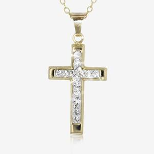 Cross Necklace - Gold Cross Pendant Necklace | Warren James